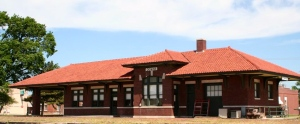 Train Depot in Downs