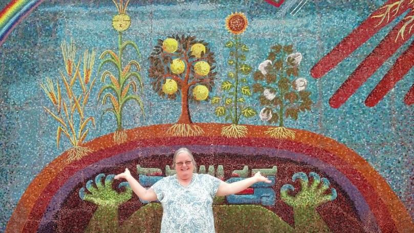 Elizabeth Perdomo at Dallas Museum of Fine Arts